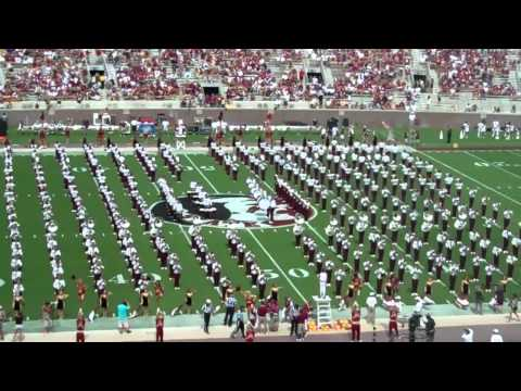 FSU Marching Chiefs Pre Game Show 3 Sept 2011