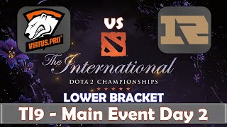 VP vs RNG | The International 2019 | Dota 2 TI9 LIVE | Lower Bracket | Main Event Day 2