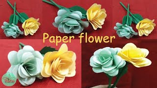 Categories video hand work paper how to make paper rose flowerdiypaper crafthandicraftdisha handwork mightylinksfo