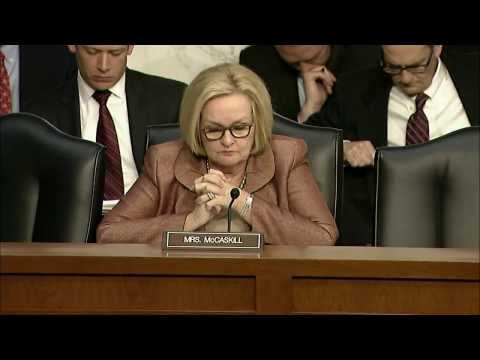 McCaskill Grills Defense Chief on Oversight of U.S. Tax Dollars in Afghanistan