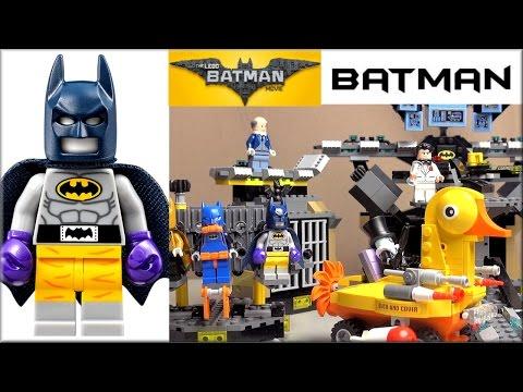LEGO Batman Movie 70909 Нападение на Бэтпещеру Обзор набора