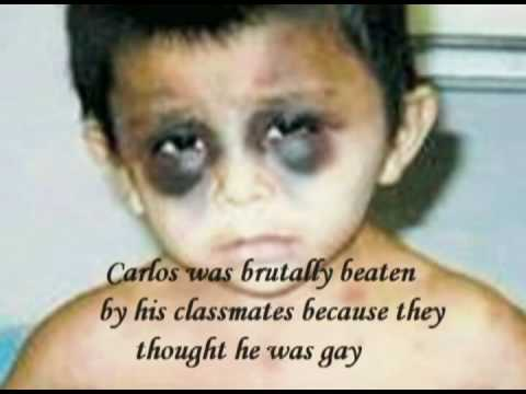 Young Boy Beaten For Being Gay!  Very Sad! video
