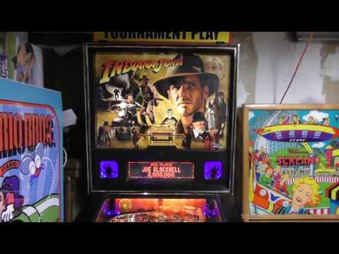 Stern Pinball's Indiana Jones Pinball Review!