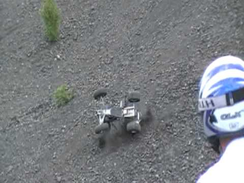 AWESOME QUAD WRECK DOWN COALHILL at treverton pa 5-16-10