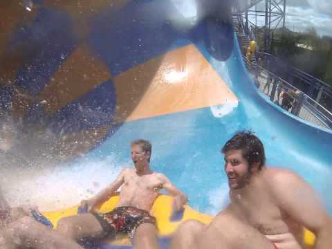 Wet 'n' Wild tube ride
