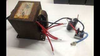 Carregador Bateria com Ajuste de Amperagem - Show! - Trafo de Microondas 2