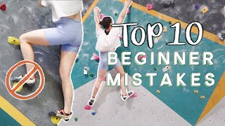 Top 10 Beginner Mistakes when Bouldering!