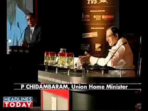 P.Chidambaram speech at the India Today Conclave 2010 - Part 3
