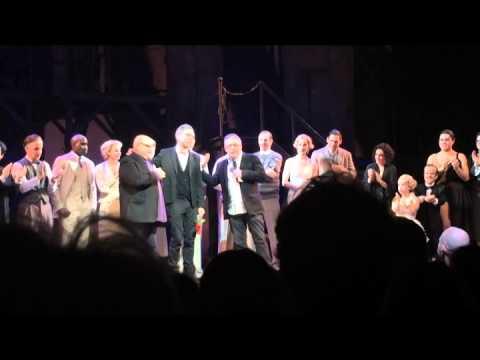 """Side Show"" Final Performance Curtain Call Speech by Bill Condon & Cast Performance (1/4/15)"