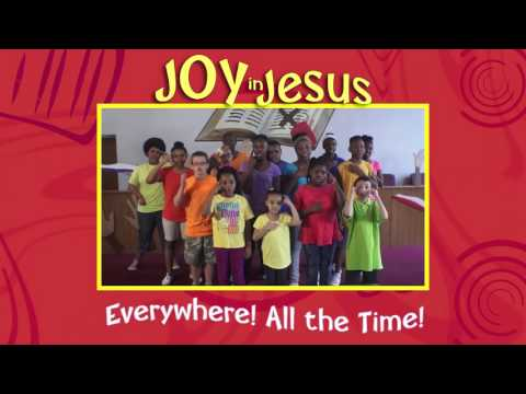 Joy in Jesus Everywhere!  VBS 2016 Preview from Abingdon Press