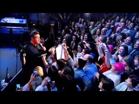 Robbie Williams BBC Radio City 13 12 2012