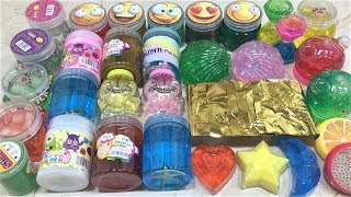 MIXING FOILS INTO STORE BOUGHT SLIME!! SLIMESMOOTHIE! SATISFYING SLIME VIDEO PART 54 !