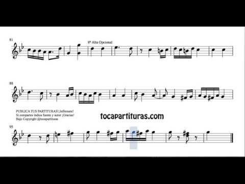 Hungarian Dance Nº5 Sheet Music for Flute