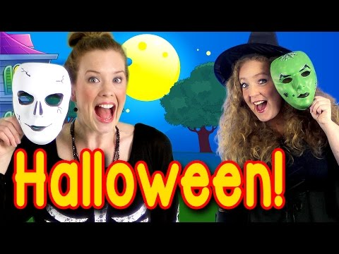 Halloween Peek a Boo Party - Kids Halloween Song