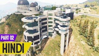 Billion Dollar Ke MANSION Main BHOOT in GTA 5 - #Slender Man 2 #2
