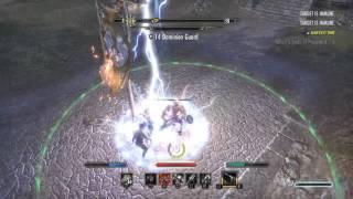 The Elder Scrolls Online: PVP Never leave a man behind.