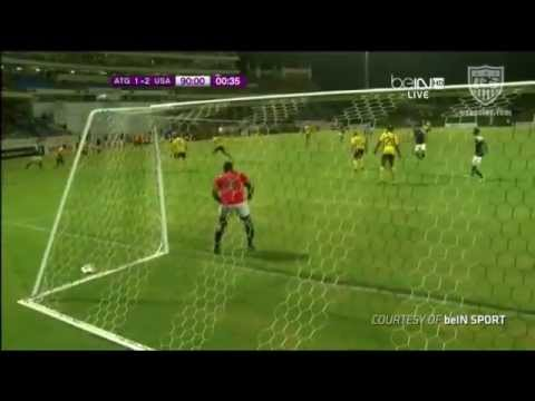MNT vs. Antigua & Barbuda- Eddie Johnson Second Goal - Oct. 12, 2012