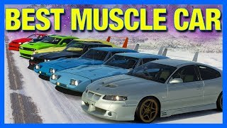 Forza Horizon 4 Online : BEST MUSCLE CAR!! (Powered By @ElgatoGaming, Race 1)