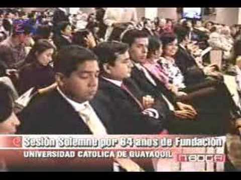Sesión Solemne Fundación U. Católica Guayaquil