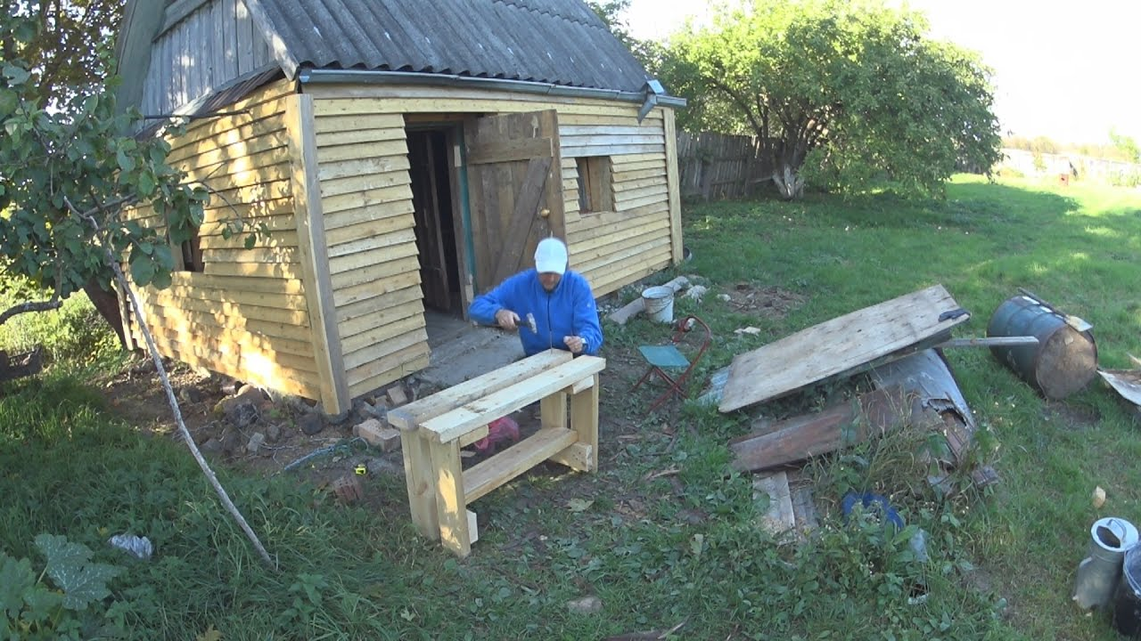 Ютуб строим баню своими руками