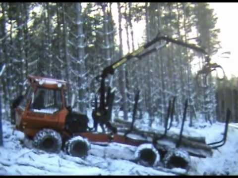 Norcar Forwarder in snow