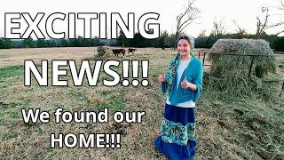 We Found Our Home!!! / Oh No!!! The Cow Got Out / Fun With The Texas Boys / Sewing A Skirt
