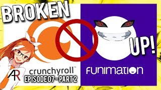 The Funimation & Crunchyroll Break Up   Anime Chat Cast
