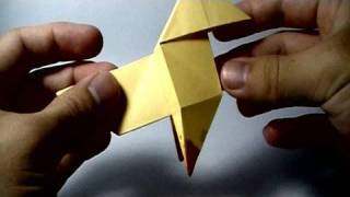 Origami Pajarita (Bird featured on PS3