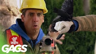 Shaken by a Raven Prank - Just For Laughs Gags