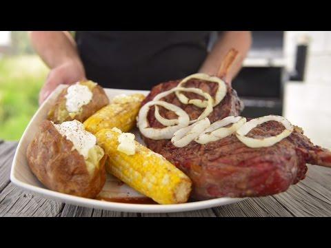 The Best Rib Eye Steak Recipe by Traeger Grills