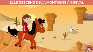 Le Monde d'Hugo - Elle descend de la montagne à cheval