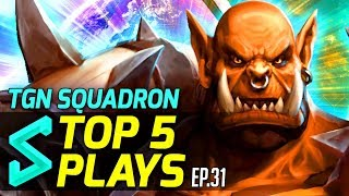 TGN Squadron's Top 5 Plays in Heroes of the Storm | Episode 31