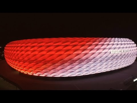 New Philips LED façade lighting at the Allianz Arena