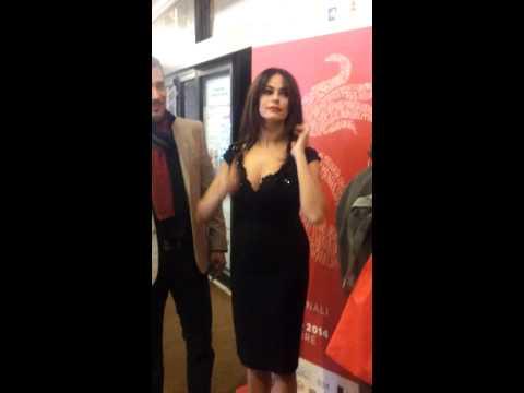 Maria Grazia Cucinotta, la vera star delle giornate del cinema a Sorrento