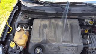 2007 Chrysler Sebring v6 2.7L engine knock