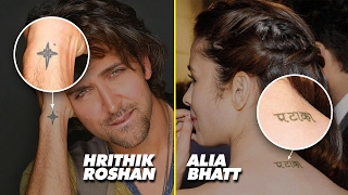 10 Wowsome Tattoo Of Bollywood Stars | SpotboyE