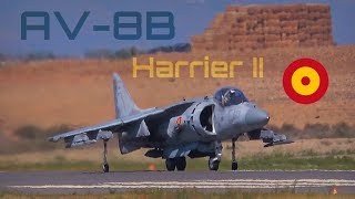 Festa al Cel 2017 - AV-8B Harrier LOUD flight! - HD50fps