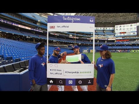 Cabbie Presents Blue Jays on Instagram