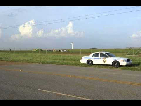 Plane Crashes At Huntsville Airport 06.18.14