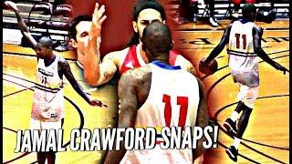 Jamal Crawford SNAPS After Game Gets SERIOUS & Heated! Mason Plumlee Makes Crawsover Debut!