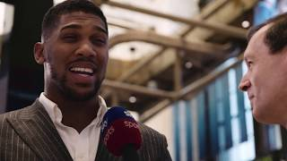 Behind The Scenes | Joshua vs Miller - NYC & London press tours