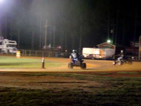 quad flat track racing  jasper florida