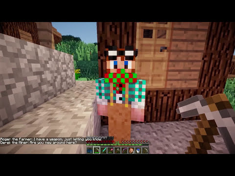 HARDCORE SALVAJE: UN PUEBLO!! | Episodio 15 | MINECRAFT MODS SERIE