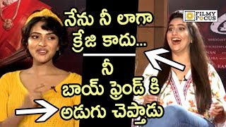 Amala Paul Making Hilarious Fun of Anchor Manjusha about Aame Movie