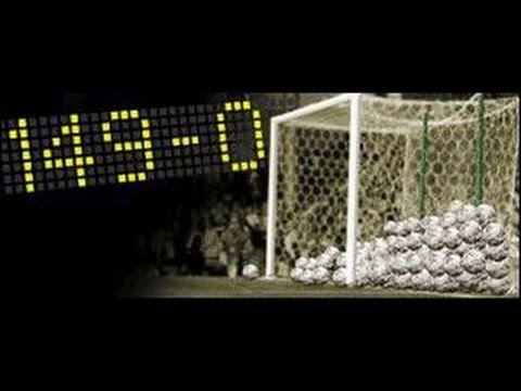 Las mayores goleadas de la historia del futbol