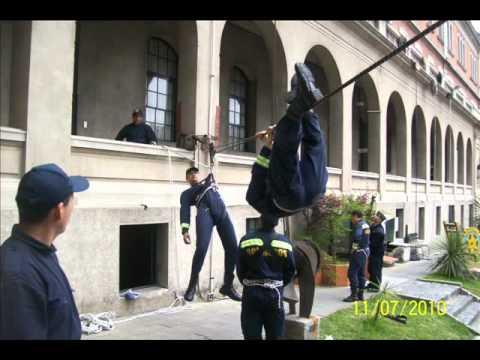 Bomberos Uruguay-Escuela 2010-Video 2