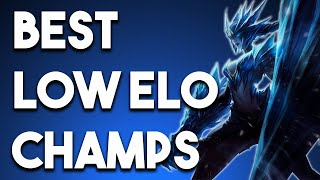 3 BEST Champs To CARRY Low Elo For ALL ROLES Season 10 Patch 10.9