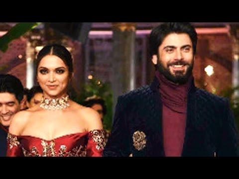 Deepika Padukone & Fawad Khan Walk The Ramp @ Manish Malhotra's Show   India Couture Week 2016
