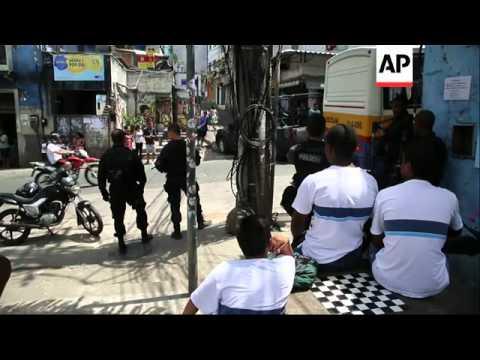 Police target drug dealers in the Rio's largest favela