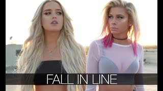 Download Lagu Christina Aguilera, Demi Lovato - Fall In Line (Andie Case & Macy Kate Cover) Gratis STAFABAND